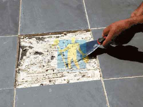 Remove the Old slate Adhesive Sydney